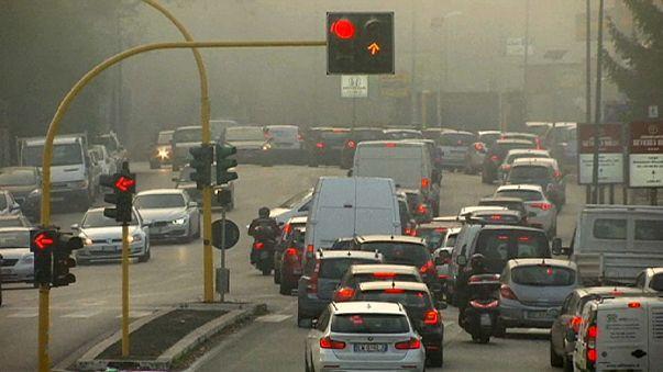 İtalya'da hava kirliliğine yeni önlemler