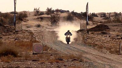 Africa Eco Race: moto al via, Chiussi è 2°