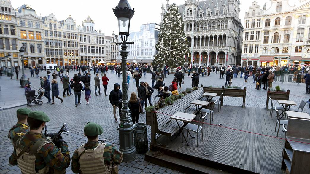 Brussels calls off traditional New Years Eve festivities over terror alert fears