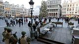Bruselas cancela todos los actos públicos de Fin de Año por la amenaza terrorista