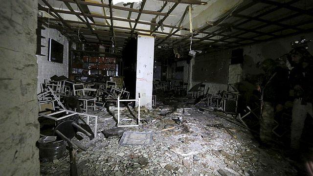 Kamışlı'da intihar saldırıları