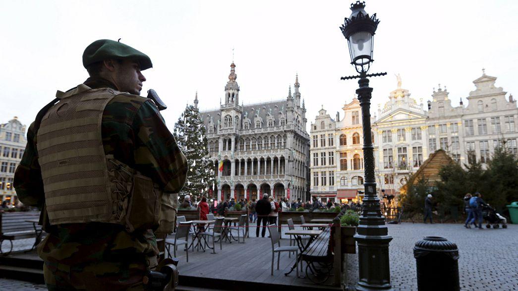 Nochevieja en guardia: despliegue de vigilancia y controles antiterroristas en las capitales europeas