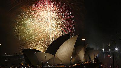 Australia begins new year celebrations
