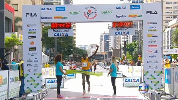 Сан-Паулу встречает Новый год марафоном