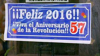 Cubans mark Revolution anniversary, as world celebrates new year