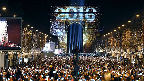El mundo festeja el nuevo año