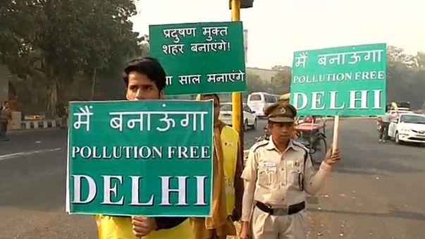 Nova Deli começa a implementar medidas contra poluição