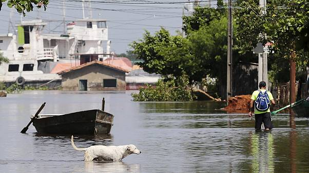 Paraguay hit by some of the worst floods in decades