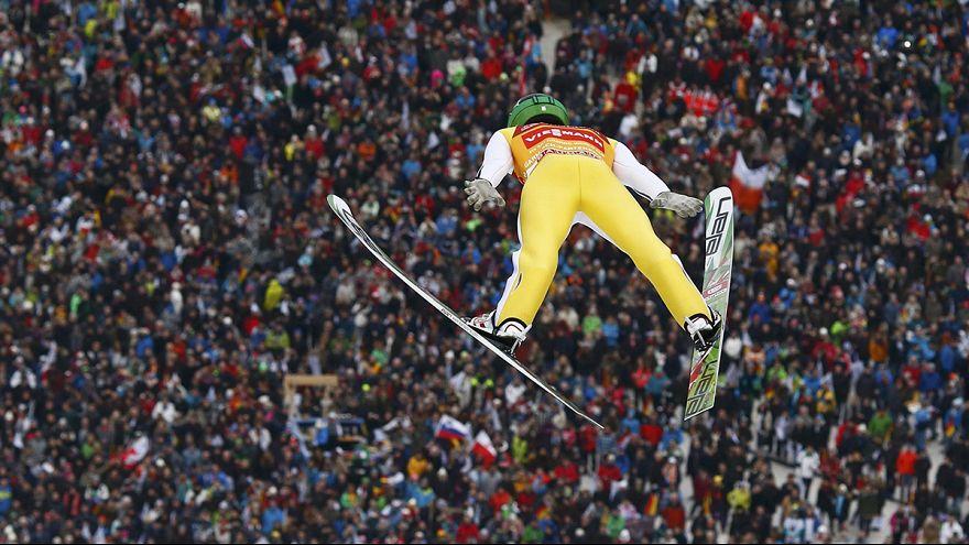 Kayakla atlama: Prevc kanatlandı