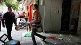 İsrail'deki bar saldırısı kamerada