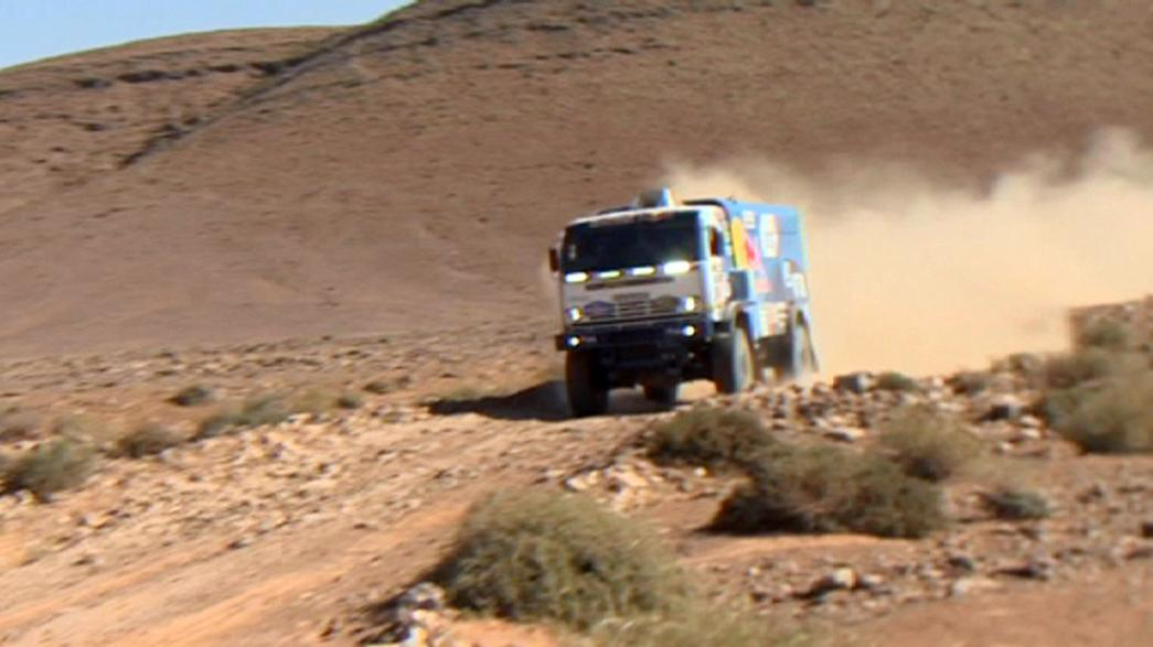 Los campeones imponen su ley en la cuarta etapa del África Eco Race