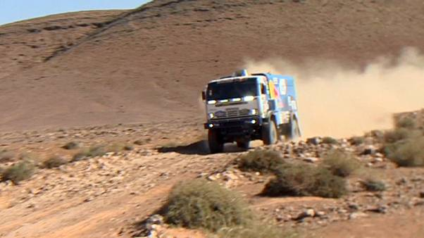 Africa Eco Race: Reigning champions shine on stage four