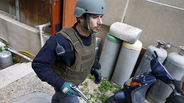Israeli forces hunt gunman who killed two in busy Tel Aviv street