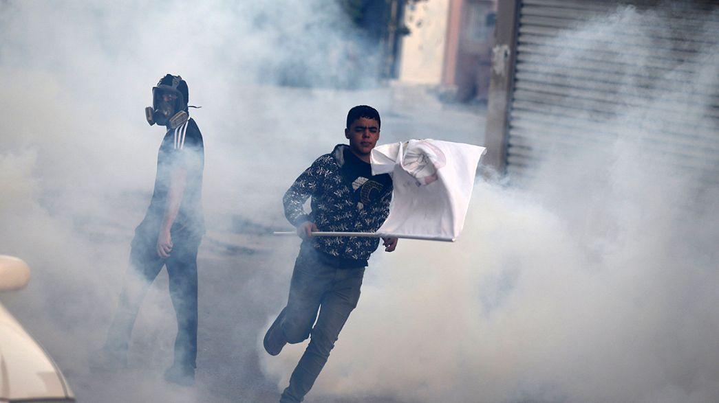 Ausschreitungen in Bahrain: Polizei geht gegen Proteste vor