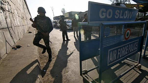 4 attackers, 2 soldiers killed in militant attack on Indian AF base