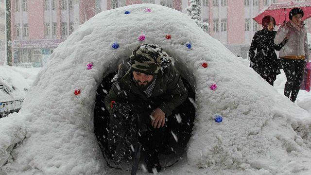 Turkiye'nin kış halleri