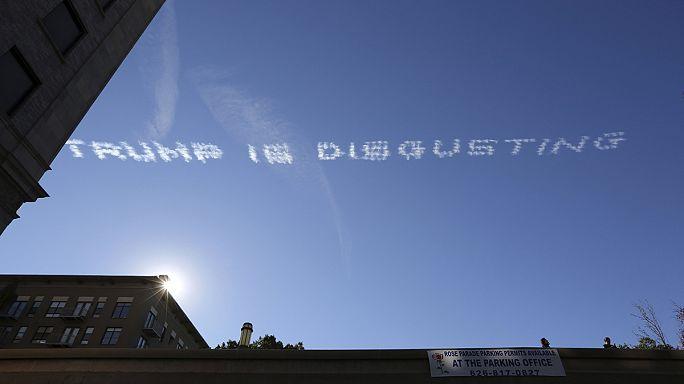"""في سماء كاليفورنيا: """"أميركا بلد عظيم وتْرامب مثير للاشمئزاز"""""""