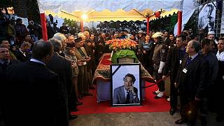 Algeria opposition leader Ait-Ahmed given state funeral