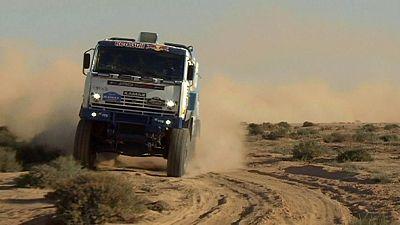 Ullevalseter y Shibalov siguen intratables en el África Eco Race