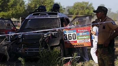 Rallye Dakar 2016 : dix blessés dans un accident