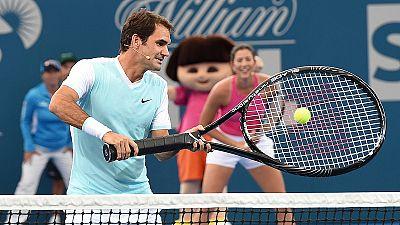 Roger Federer débute à Brisbane