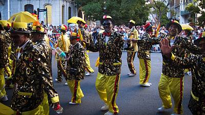 South Africa: Colourful minstrel carnival lights up Cape Town