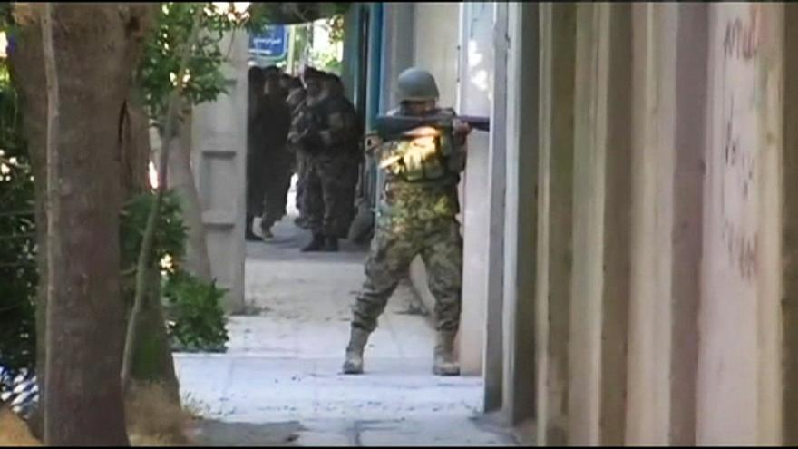 Indian consulate comes under attack in northern Afghanistan