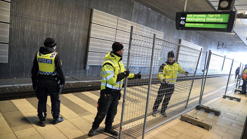 Nueva valla en Europa: Suecia identificará a los viajeros que lleguen desde Dinamarca para filtrar a los refugiados