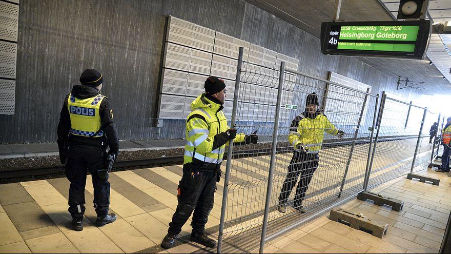 Sweden imposes border checks to stem flow of migrants