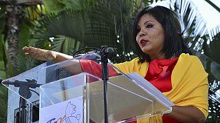 Mexique : la ville de Texmico enterre sa jeune maire