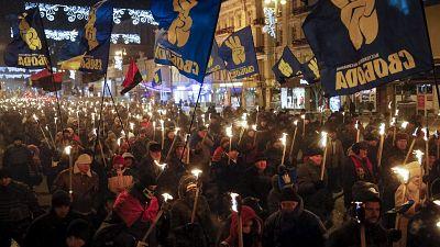 Les Ukrainiens rendent hommage à Stepan Bandera