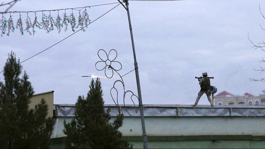 عملية نوعية للقضاء على مسلحين حاولوا اقتحام قنصلية هندية شمالي أفغانستان