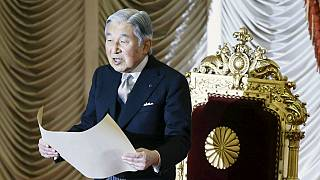 Japan Emperor wishes for peace in New Year's message