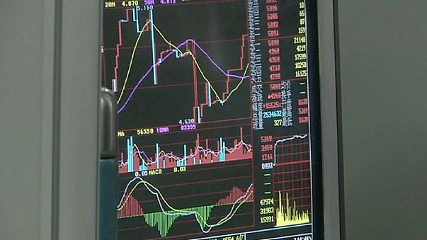 European markets fall after decline in Chinese shares