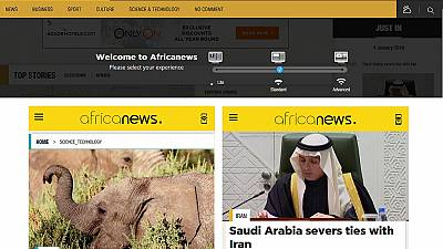 Africanews lance son site web