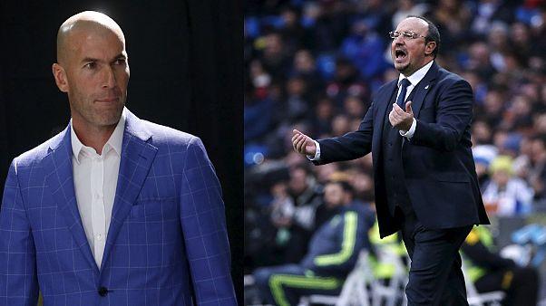 Real Madrid'de Benitez gitti Zidane geldi