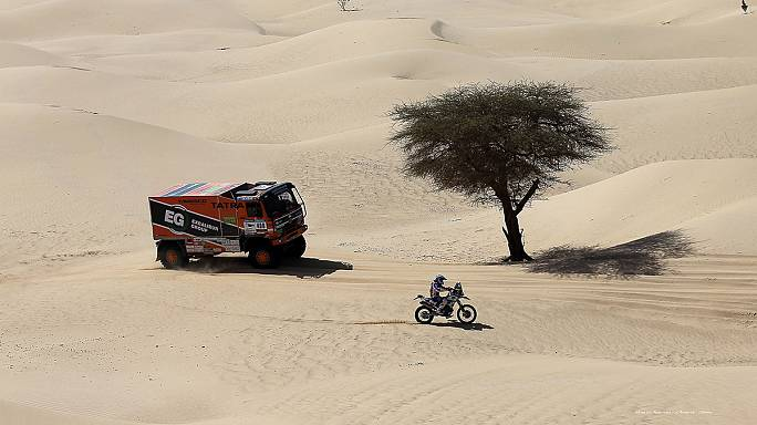 Africa Eco Race : Ullevalseter plein gaz