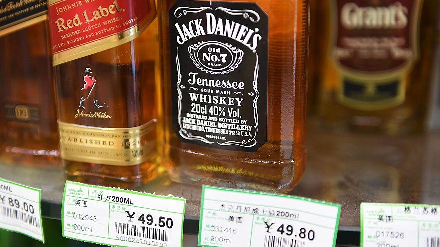 Image: China Trade War Whisky