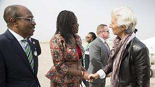 IMF boss arrives in Nigeria for talks with Buhari