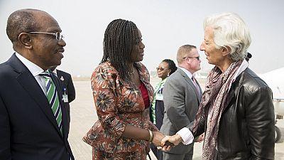 La patronne du FMI est arrivée au Nigeria