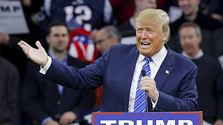 Vídeo de Trump alimenta discurso polémico do candidato republicano