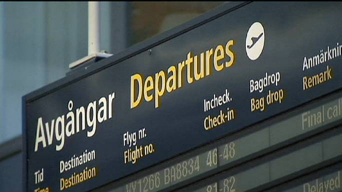 Fausse alerte à la bombe à l'aéroport de Stockholm