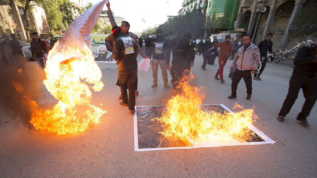 UN condemns attack on Saudi embassy in Iran