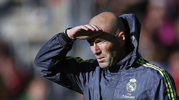 Primer entrenamiento de Zinedine Zidane como entrenador del Real Madrid