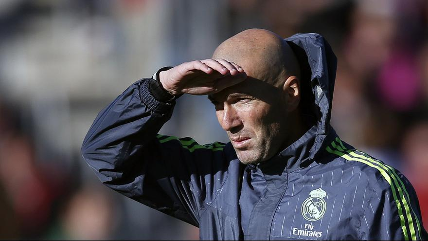 Zizu begins top job at Real Madrid