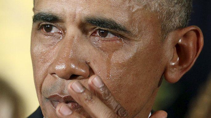 أوباما يقترح إجراءات لمراقبة الأسلحة في بلاده
