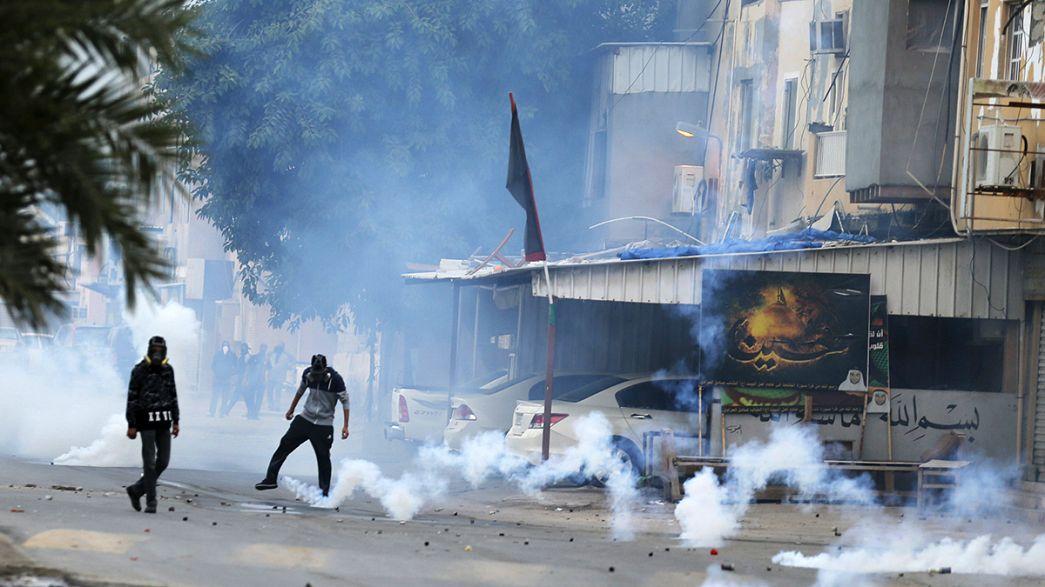 Violentas protestas chiíes en Baréin contra el gobierno suní por el respaldo a Arabia Saudí
