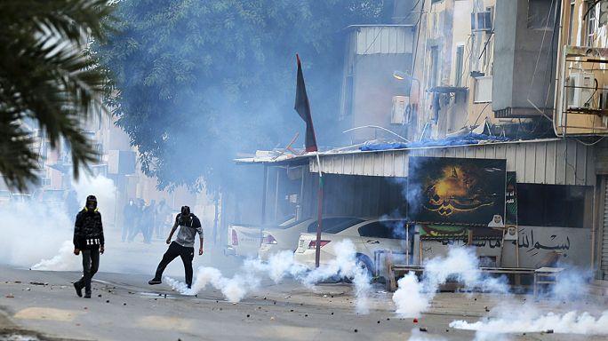 مواجهات في البحرين بين قوات الأمن ومتظاهرين مناصرين للشيخ النمر