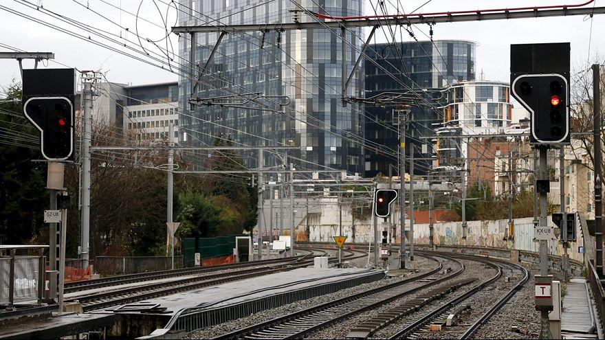 إضراب عمال القطارات السريعة الدولية في بلجيكا