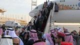 Los diplomáticos saudíes destinados en Irán vuelven a casa